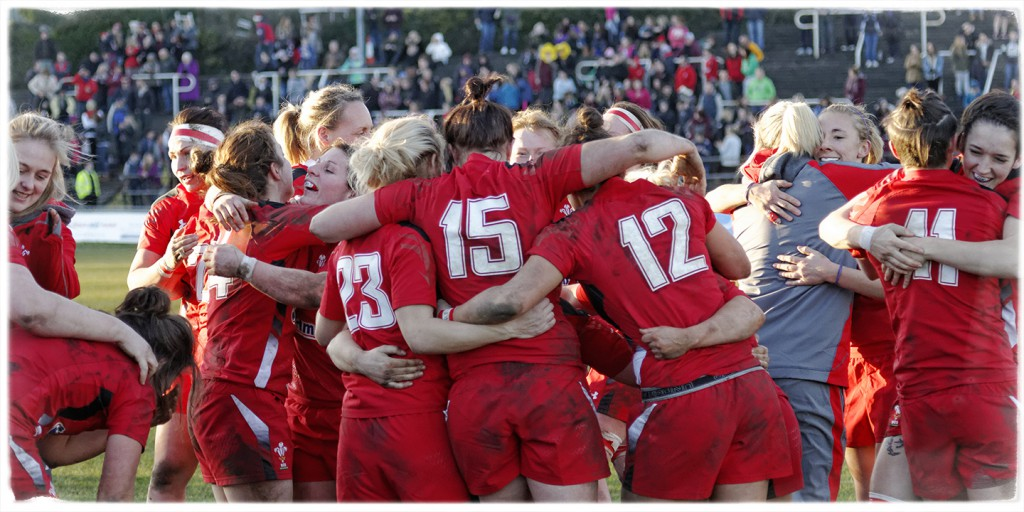 Wales jubilant at their victory over England