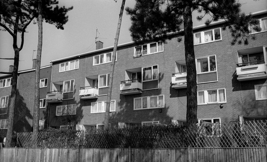 Chelmsley Wood maisonette block
