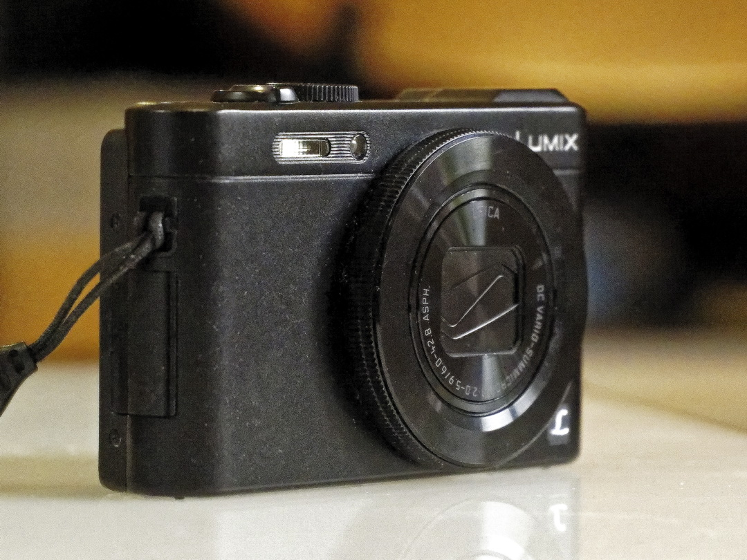 The Lumix LF1 with 28 - 200 equivalent lens and f1.7 Leica lens.